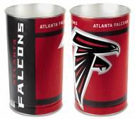Atlanta Falcons Metal Wastebasket