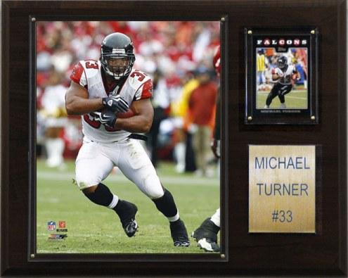 "Atlanta Falcons Michael Turner 12 x 15"" Player Plaque"