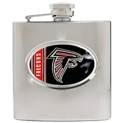 Atlanta Falcons NFL 6 Oz. Stainless Steel Hip Flask