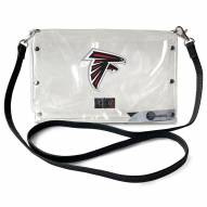 Atlanta Falcons Clear Envelope Purse