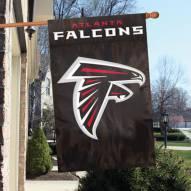 Atlanta Falcons NFL Applique 2-Sided Banner Flag