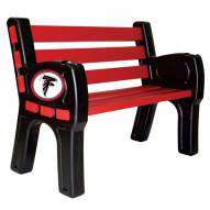 Atlanta Falcons Park Bench