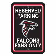 Atlanta Falcons Parking Sign