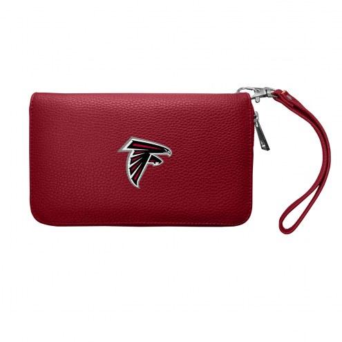 Atlanta Falcons Pebble Organizer Wallet