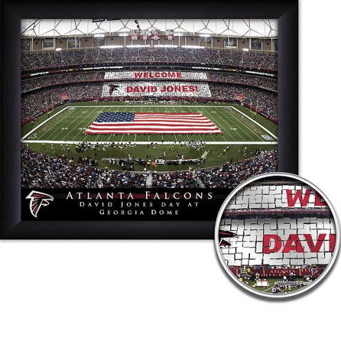 Atlanta Falcons Personalized Framed Stadium Print