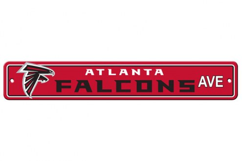 Atlanta Falcons Plastic Street Sign
