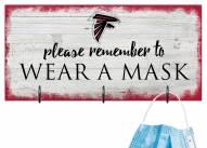 Atlanta Falcons Please Wear Your Mask Sign