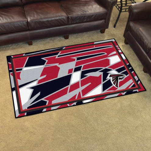 Atlanta Falcons Quicksnap 4' x 6' Area Rug