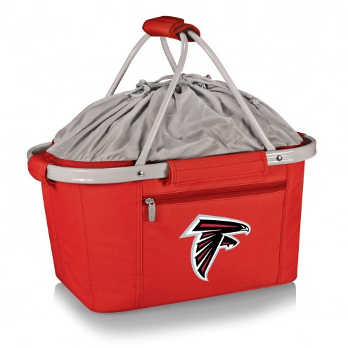 Atlanta Falcons Red Metro Picnic Basket
