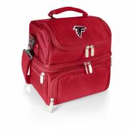 Atlanta Falcons Red Pranzo Insulated Lunch Box