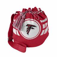 Atlanta Falcons Ripple Drawstring Bucket Bag