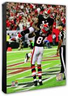 Atlanta Falcons Roddy White & Julio Jones Action Photo