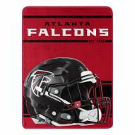 Atlanta Falcons Run Raschel Blanket