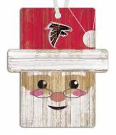 Atlanta Falcons Santa Ornament