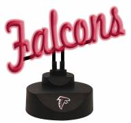 Atlanta Falcons Script Neon Desk Lamp