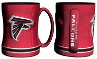 Atlanta Falcons Sculpted Relief Coffee Mug
