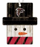 Atlanta Falcons Snowman Ornament