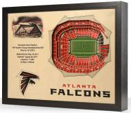 Atlanta Falcons 25-Layer StadiumViews 3D Wall Art