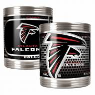 Atlanta Falcons Stainless Steel Hi-Def Coozie Set
