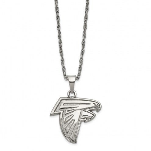 Atlanta Falcons Stainless Steel Pendant on Chain