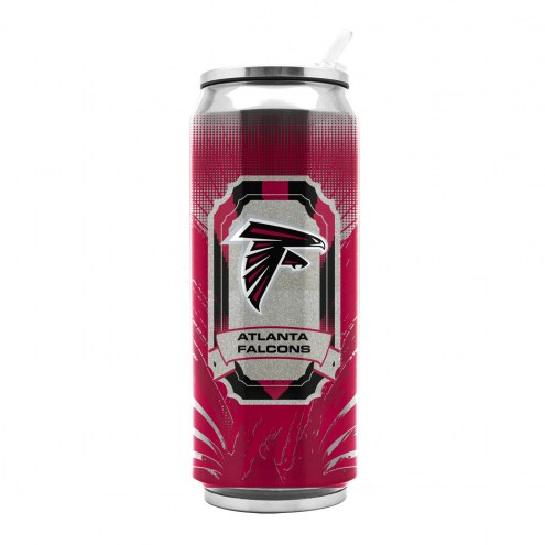 Atlanta Falcons Stainless Steel Thermo Can