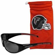 Atlanta Falcons Sunglasses and Bag Set