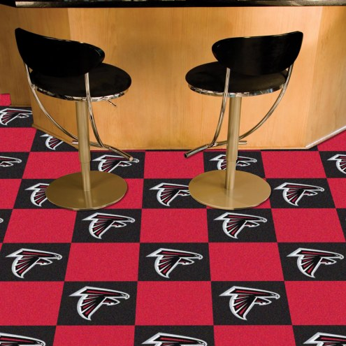 Atlanta Falcons Team Carpet Tiles