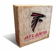 Atlanta Falcons Team Logo Block