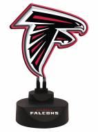 Atlanta Falcons Team Logo Neon Light