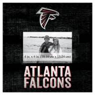 "Atlanta Falcons Team Name 10"" x 10"" Picture Frame"