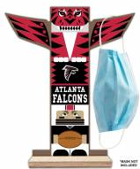 Atlanta Falcons Totem Mask Holder