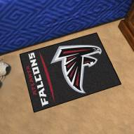 Atlanta Falcons Uniform Inspired Starter Rug