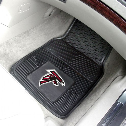 Atlanta Falcons Vinyl 2-Piece Car Floor Mats