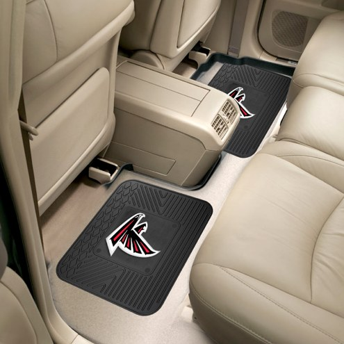 Atlanta Falcons Vinyl 2-Piece Rear Floor Mats