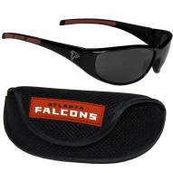 Atlanta Falcons Wrap Sunglasses and Case Set