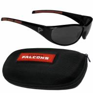 Atlanta Falcons Wrap Sunglasses and Case Set