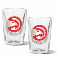 Atlanta Hawks 2 oz. Prism Shot Glass Set