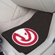Atlanta Hawks 2-Piece Carpet Car Mats