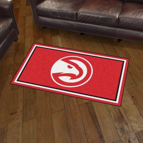 Atlanta Hawks 3' x 5' Area Rug