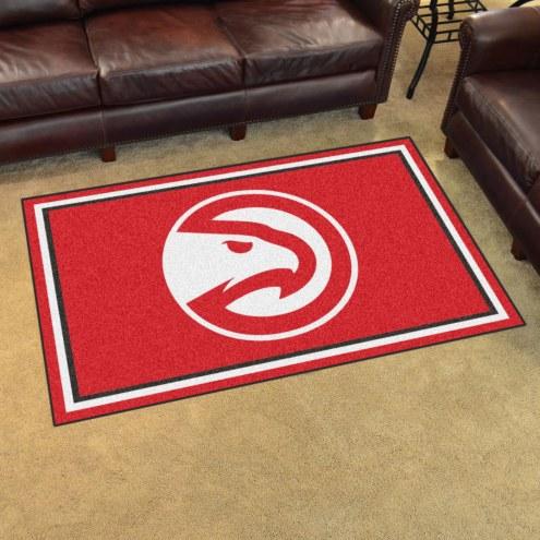 Atlanta Hawks 4' x 6' Area Rug