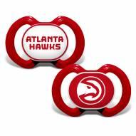Atlanta Hawks Baby Pacifier 2-Pack