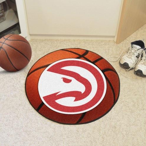 Atlanta Hawks Basketball Mat