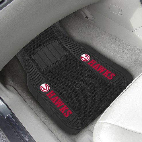 Atlanta Hawks Deluxe Car Floor Mat Set