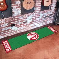 Atlanta Hawks Golf Putting Green Mat