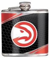 Atlanta Hawks Hi-Def Stainless Steel Flask