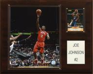 "Atlanta Hawks Joe Johnson 12"" x 15"" Player Plaque"