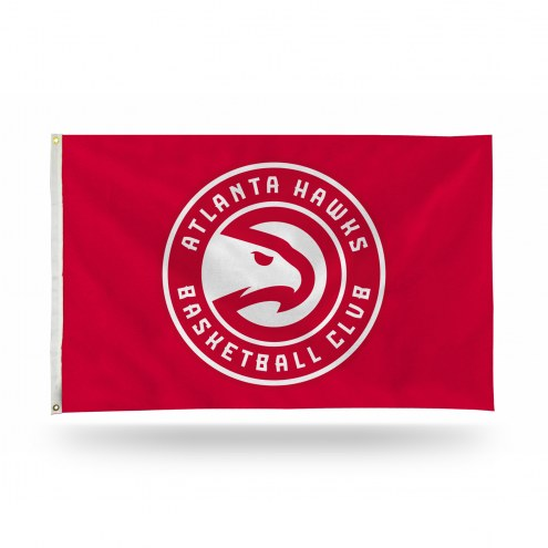Atlanta Hawks NBA 3' x 5' Banner Flag