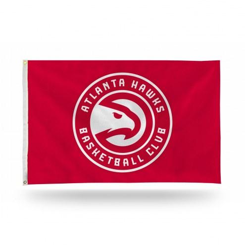 Atlanta Hawks NBA 3' x 5' Banner Flag