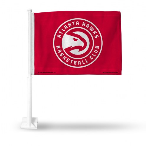 Atlanta Hawks NBA Car Flag