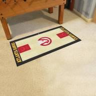 Atlanta Hawks NBA Court Large Runner